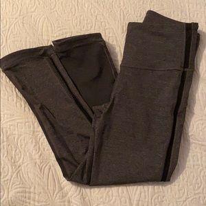 Lululemon grey Capri legging